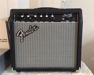 Fender amp karaoke setup