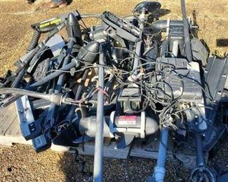 Pallet Of Trolling Motors/Parts