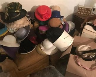 Large Assortment  of Women's Hats- 2nd floor