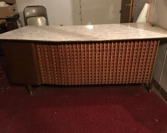 Unusual Mid Century Desk