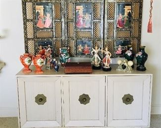 Draper style console cabinet, $150, Screen SOLD