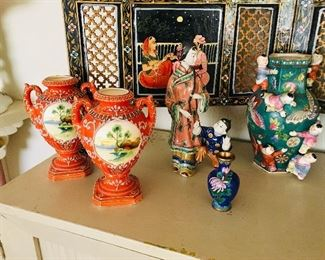 Orange vases SOLD