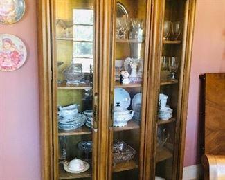 Curio Cabinet, Dining Room, $275