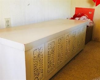 Lane Cedar Chest with carved panels, $100, SOLD