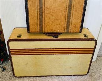2 Pc. Vintage Luggage, $45