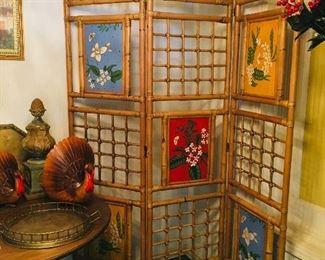 Bamboo Screen, $195