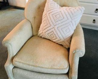 Off White Club Chair, $35
