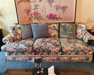 Floral Sofa, $150