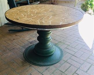 Outdoor Round Table, $125