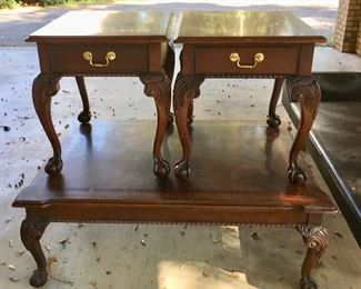 3 Pc. Set, Coffee and End Tables, $195, SOLD
