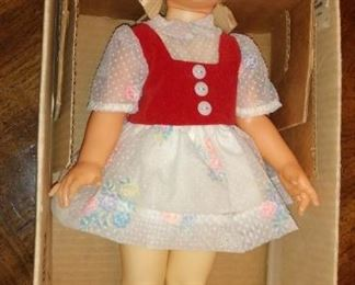 Ideal 1972 Shirley Temple Doll in Box