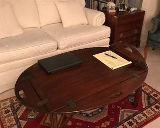 Item 16 Butlers coffee table $100 The Loveseat is also available for $250