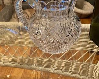 Item 47 Cut Crystal Water Pitcher $65