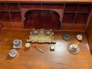 Collection of Antique Desk Accessories. See following pictures for individual Listings.