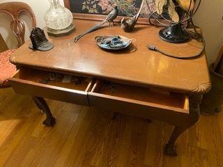 Item 67 Antique Oak Desk $650