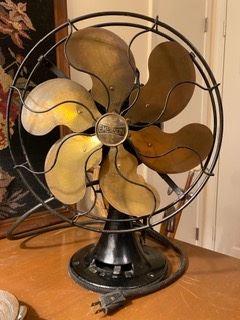 Item 70 Emerson 6 Blade Fan in working order $350
