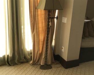 Floor lamp. Estimate $400
