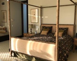 California King Bed. Estimate $3500