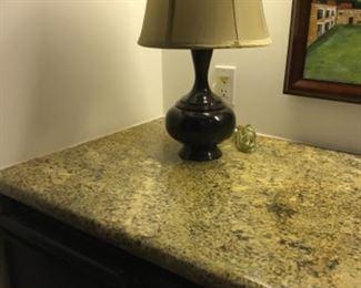Table lamp. Estimate $100