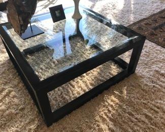 Coffee table. Estimate $1200