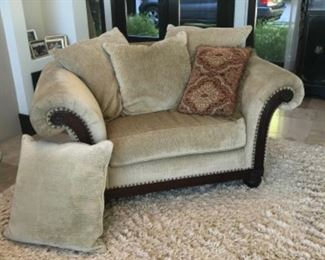 Occasional chair. Estimate $1200