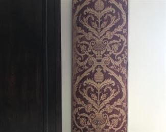 "Late 17th century textile panel, 24""x 62"". Estimate $2000"