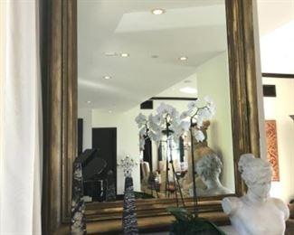 Gilt mirror. Estimate $2500