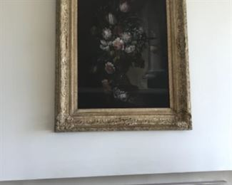 Oil on canvas. Late 18th century 40x52 framed. Estimate $5500