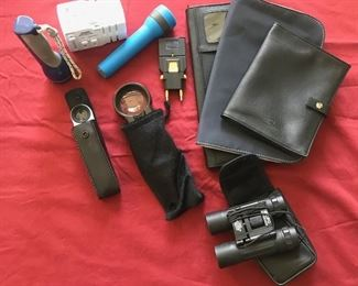 Binoculars & misc Estimate $175