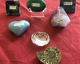 Meditation stones Estimate $200