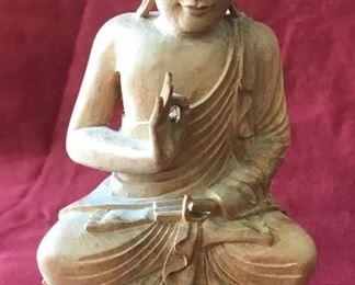 Wooden Buddha Estimate $750