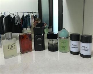 Mens fragrance Estimate $400