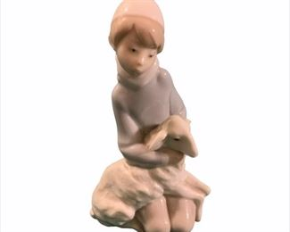 Lladro Little Boy with Sheep  $30
