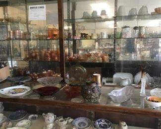 Lots of Glassware, Carnival Glass, Cutglass