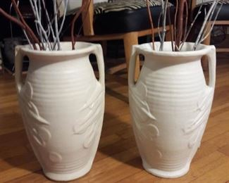McCoy tall vases