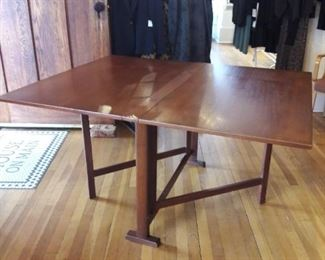 mid century gate leg table