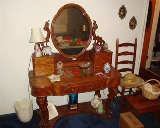 Antique 1850's(?) Ladies Dressing Table