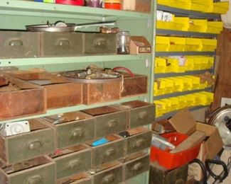 Work Shop - Storage Drawers/Bins for hardware