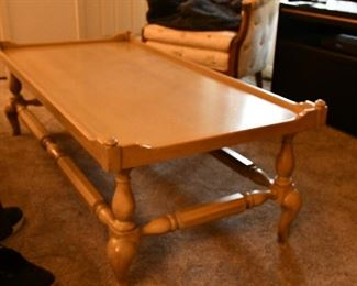 Coffee Table 52 x 26 x 18. Was $165, now $95.