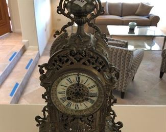 French 19th Century Clock