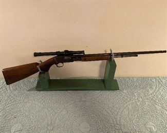 Remington Model 1912 Target Rifle Conversion Pump Tube Feed 22 Rifle((SN 543299)