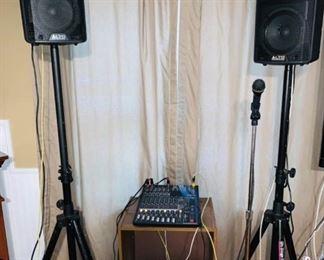 Professional Karaoke Setup