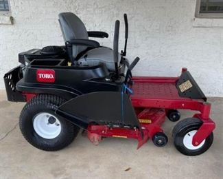 Toro 50 Zero Turn Mower