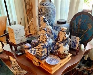 Highly desirable blue and white porcelain