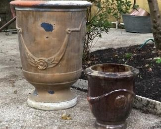 Urns and pots