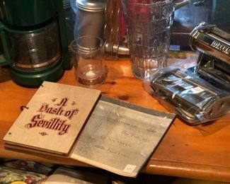 Vintage cookery and cookbooks