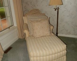 Chaise; Lamp