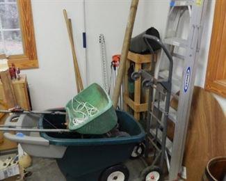 Lawn & garden tools, ladder