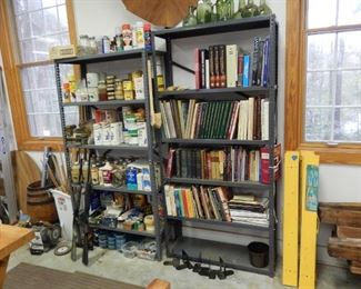 Woodworking books; misc.