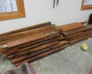 Mahogany boards